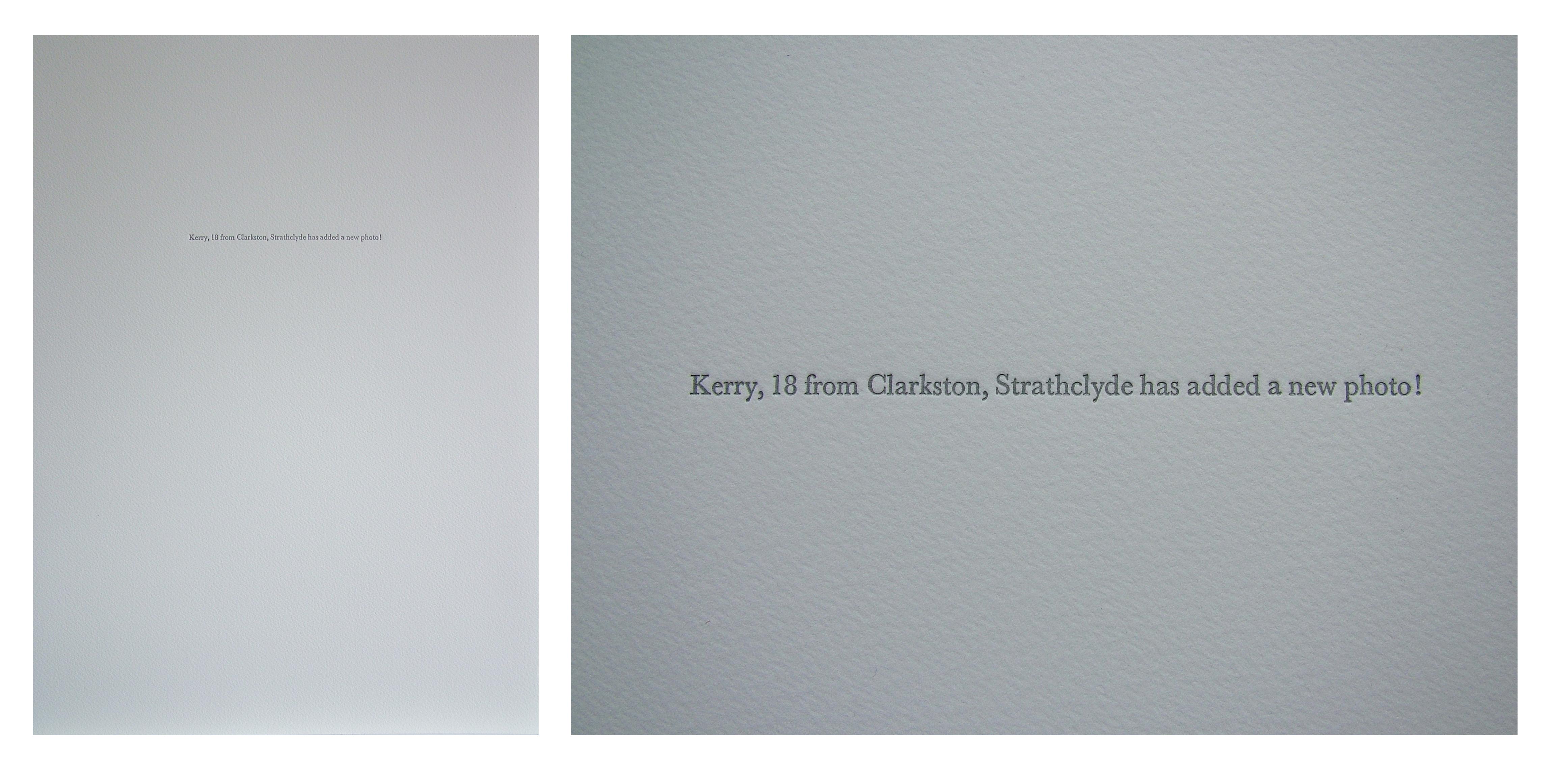 Spam Letterpress Series